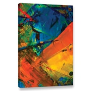 ArtWall Sailing by Byron May Painting Print on Wrapped Canvas; 18'' H x 12'' W x 2'' D