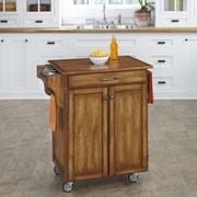 Home Styles Cuisine Kitchen Cart; Warm Oak