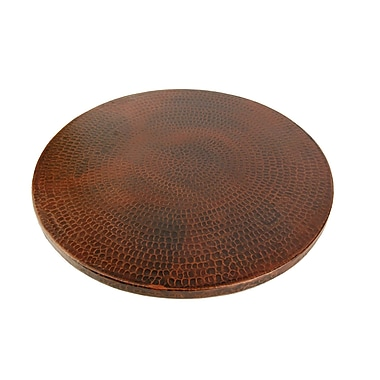 Premier Copper Products Hand Hammered Copper Lazy Susan; 20''