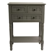 J. Hunt Home Simplify Console Table; Antique Grey