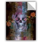 ArtWall 'Skull' by Greg Simanson Graphic Art; 18'' H x 14'' W x 0.1'' D