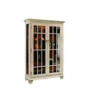 Philip Reinisch Co. ColorTime Monterey Curio Cabinet; Sand Shell White