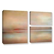 ArtWall 'Landscape Sunset' by Cora Niele 3 Piece Photographic Print on Wrapped Canvas Set