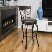 Borealis by Starsong 26'' Bar Stool with Cushion