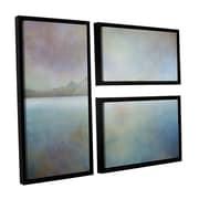 ArtWall Landscape Iceland Westman by Cora Niele 3 Piece Floater Framed Graphic Art Set