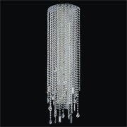 Glow Lighting Divine Ice 8 Light Wall Sconce