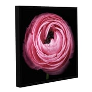 ArtWall Pink II by Cora Niele Floater Framed Graphic Art on Wrapped Canvas; 18'' H x 18'' W x 2'' D