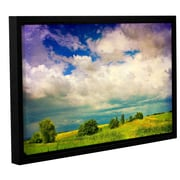 ArtWall 'Mighty Clouds' by Dragos Dumitrascu Framed Photographic Print on Wrapped Canvas