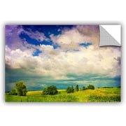 ArtWall Mighty Clouds by Dragos Dumitrascu Photographic Print