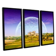 ArtWall 'Keys to Imagination VI' by Dragos Dumitrascu 3 Piece Photographic Print on Canvas Set
