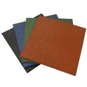 Rubber-Cal, Inc. ''Eco-Sport'' Interlocking Flooring Rubber Tile (Set of 3)