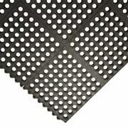 Rubber-Cal, Inc. ''Dura-Chef Commercial Interlock'' Anti-Fatigue Rubber Mat (Set of 8)