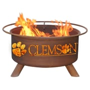 Patina Products Collegiate Fire Pit; Clemson University
