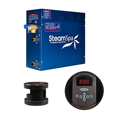 Steam Spa SteamSpa Oasis 4.5 KW QuickStart Steam Bath Generator Package in Oil Rubbed Bronze