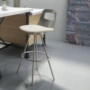Amisco Urban Style 26'' Swivel Bar Stool with Cushion