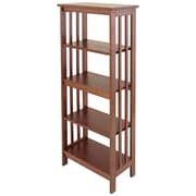 Manchester Wood Mission 54'' Standard Bookcase; Chestnut