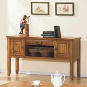 Winners Only, Inc. Zahara Console Table; Light Oak