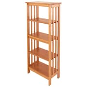 Manchester Wood Mission 54'' Standard Bookcase; Golden Oak
