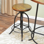 Carolina Cottage Blair Adjustable Height Swivel Bar Stool