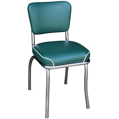 Richardson Seating Retro Home Side Chair; Green