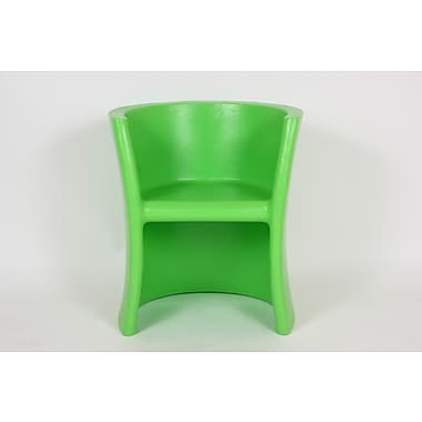 dCOR design Albert Arm Chair; Green