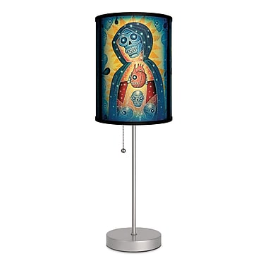 Lamp-In-A-Box Artist Joel Nakamura ''Santa Muerte'' 20'' Table Lamp