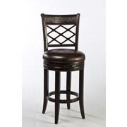 Hillsdale Spalding 26'' Swivel Bar Stool with Cushion