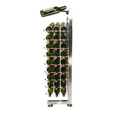 VintageView IDR Series 90 Bottle Floor Wine Rack