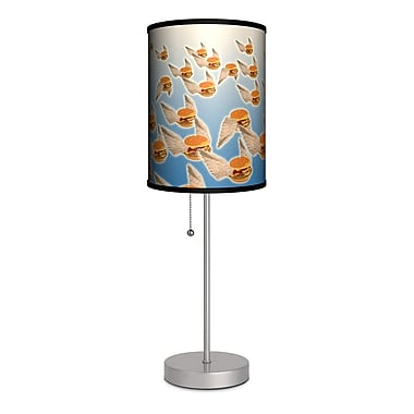 Lamp-In-A-Box Flying Hamburgers 20'' Table Lamp