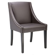 Sunpan Modern 5West Lucille Arm Chair; Leather - Brown