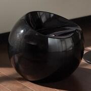 Standard Furniture Ergo Bar Stool; Black