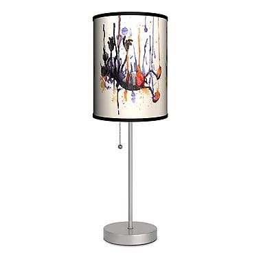 Lamp-In-A-Box Artist Nice Bleed ''Falling'' 20'' Table Lamp
