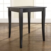Crosley Cabriole Counter Height Pub Table; Black