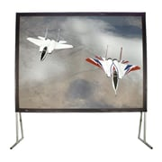 Buhl Matte White 100'' diagonal Fixed Frame Projection Screen