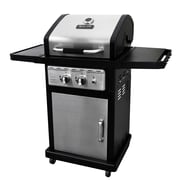 Dyna-Glo Smart Space Living 2-Burner 30,000-BTU Gas BBQ Grill with Folding Side Tables