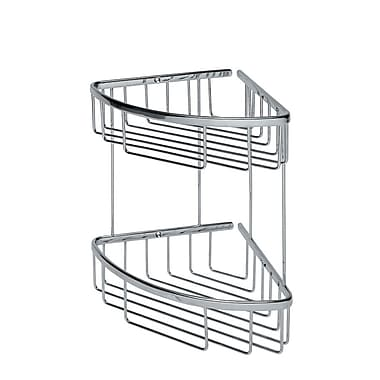 WS Bath Collections Filo Double Shower Caddy