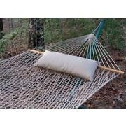 Twin Oaks Hammocks Sunbrella Hammock Outdoor Bolster Pillow; Sand