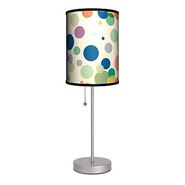 Lamp-In-A-Box Decor Art Dots 20'' Table Lamp