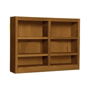 Concepts in Wood Double Wide 36'' Standard Bookcase; Dry Oak