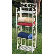 International Caravan International Caravan Iron 4 Tier Backers Rack