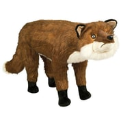 Queens of Christmas Fox Ottoman