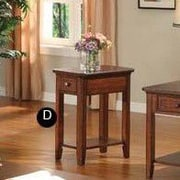 Winners Only, Inc. End Table; Cherry