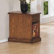 Winners Only, Inc. Zahara Chairside Table; Medium Oak