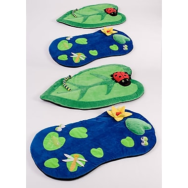 Kalokids Back to Nature Snuggle Kids Rug (Set of 4)