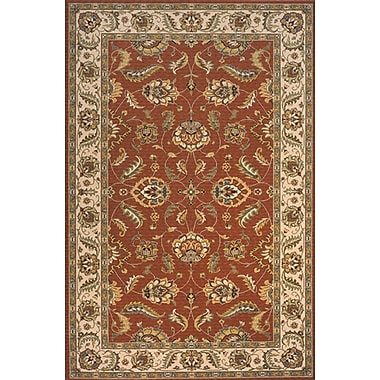 Momeni Persian Garden Red/Ivory Area Rug; 9'6'' x 13'