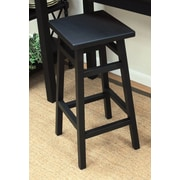 Carolina Cottage O'Malley 30'' Bar Stool; Antique Black