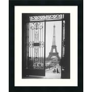 Amanti Art 'The Eiffel Tower from the Trocadero, 1925' by Gall Framed Photographic Print