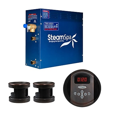 Steam Spa SteamSpa Oasis 10.5 KW QuickStart Steam Bath Generator Package in Oil Rubbed Bronze