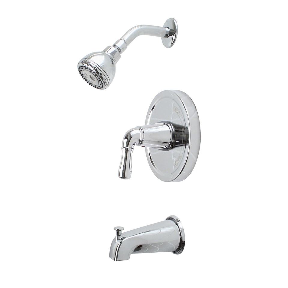 Premier Faucet Sanibel Single Volume Control Tub and Shower Faucet; Chrome