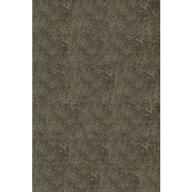 Momeni Luster Shag Hand-Tufted Gray Area Rug; 3' x 5'